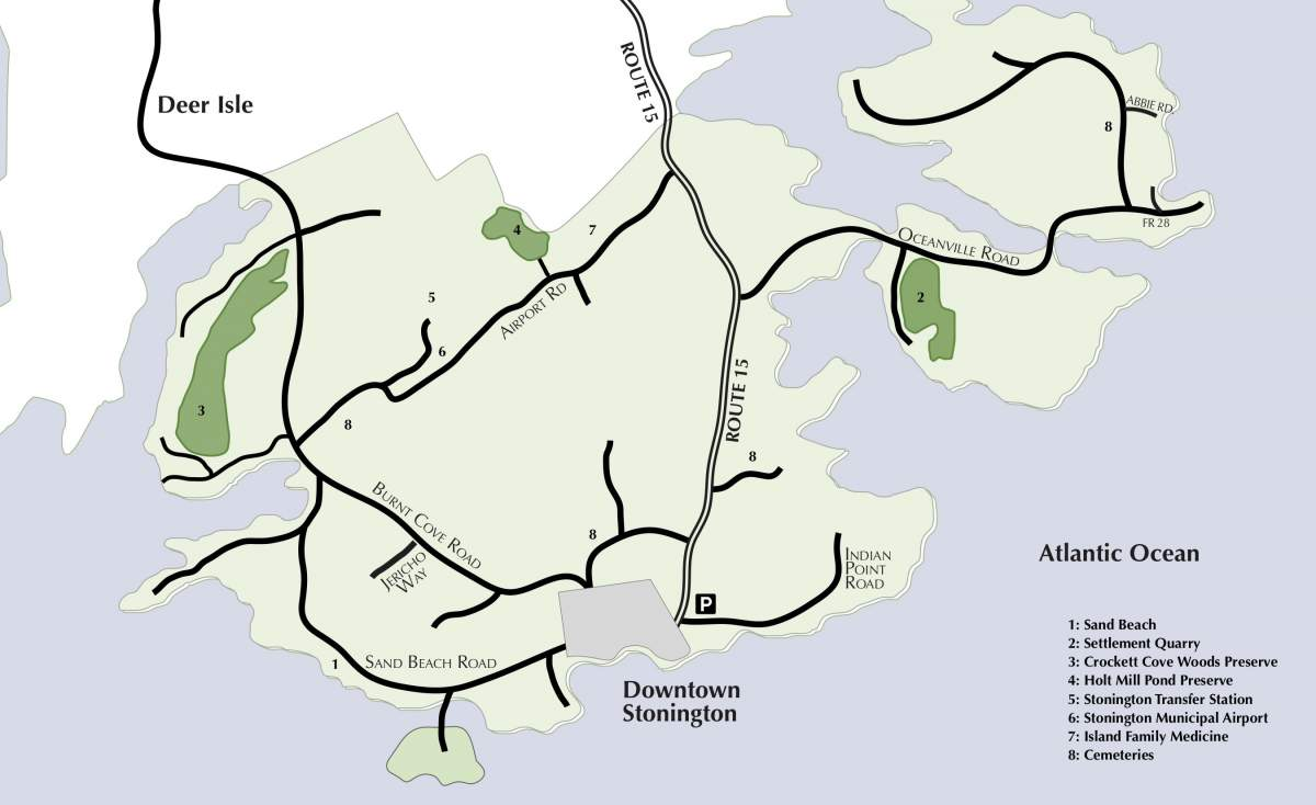 Stonington Town-wide Map